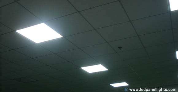 led light panel builtin
