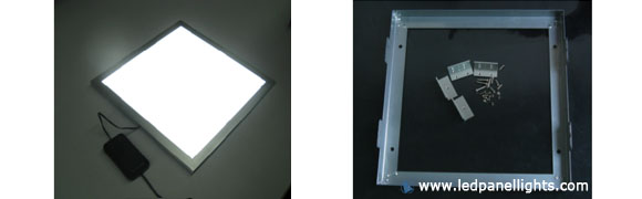 led panel light mounted installation accessories