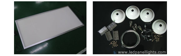 led panel light suspended installation accessories
