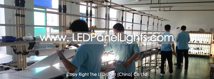 led-panel-light-production-line