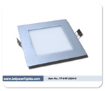 Thin LED Light Panel 20cmx20cm TP-09-W-2020-GC